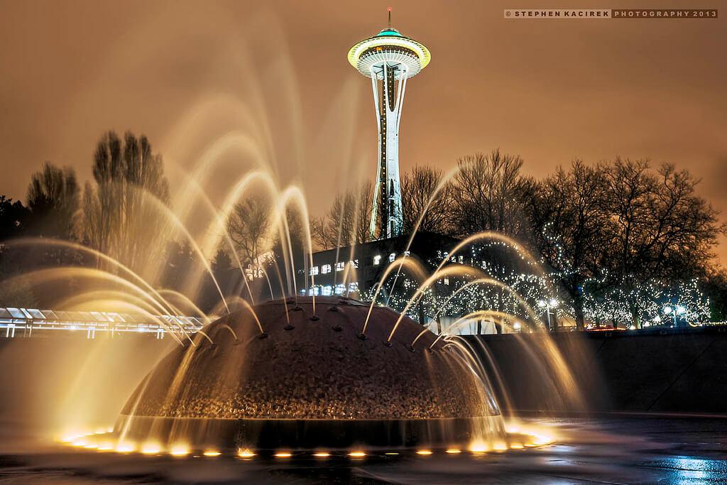 Seattle Center, Seattle, Washington - Photo by Stephen Kacirek