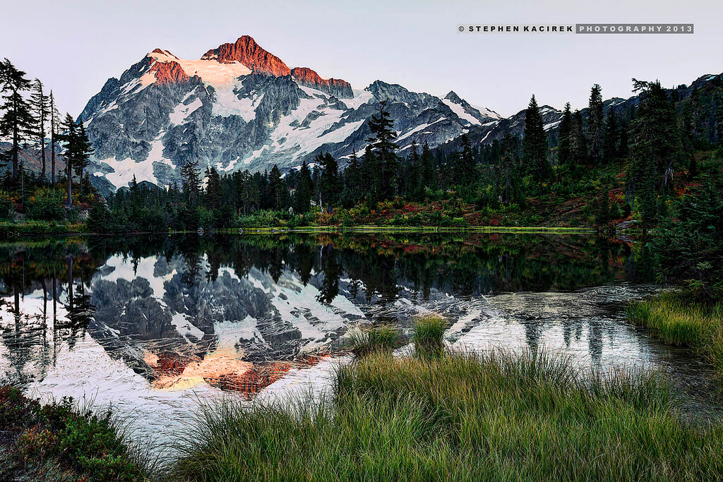 Mount Shuksan transitions into autumn - Photo by Stephen Kacirek