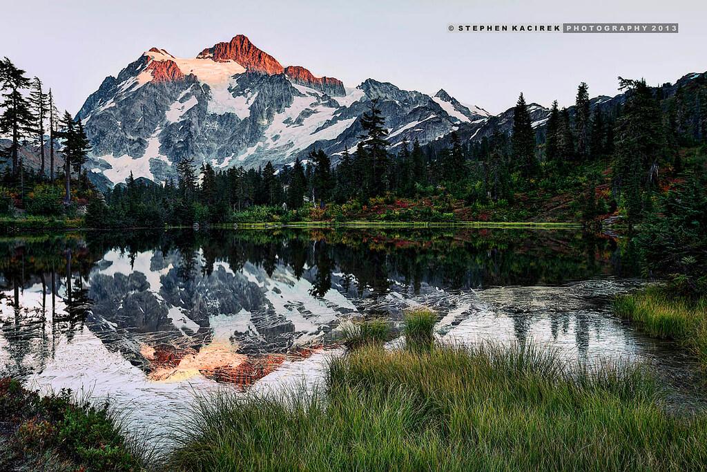 Mount Shuksan transitions into autumn - Photo by Stephen Kacirek