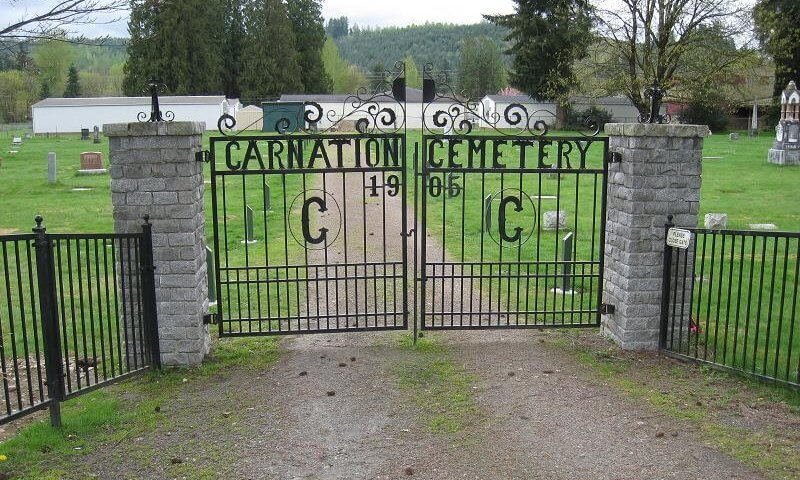 Carnation Cemetery in Carnation, Washington - Photo courtesy of findagrave.com