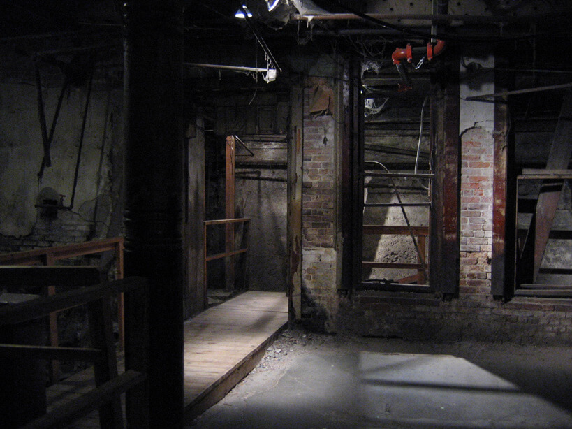This was street level in the mid-1800's - Photo courtesy of Bill Spiedel's Underground Tour