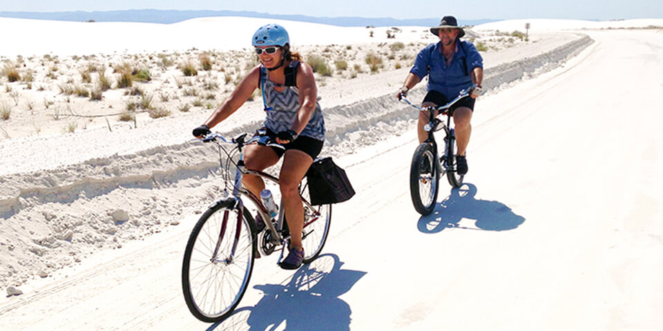 Exercise and enjoy the dunes on bicycles - Photo by nps.gov
