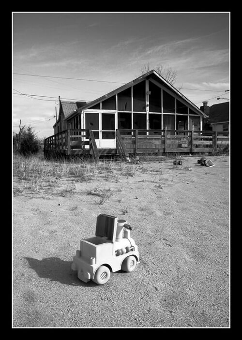 Little Choo Choo Daycare (abandoned) in Las Vegas, Nevada. One of the most haunted places in Nevada. - Photo courtesy of HauntedNorthAmerica.com
