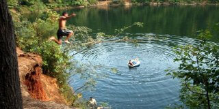 If You Didn't Know About These 5 Swimming Holes In North Carolina, They're A Must Visit