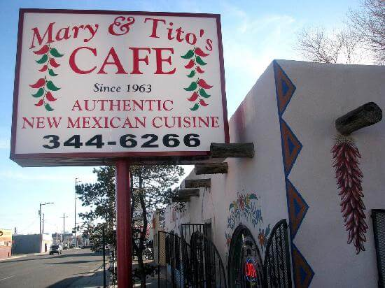Mary and Tito's Cafe - Albuquerque, New Mexico