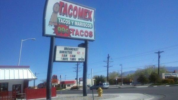 Tacos Mex Y Mariscos - Albuquerque