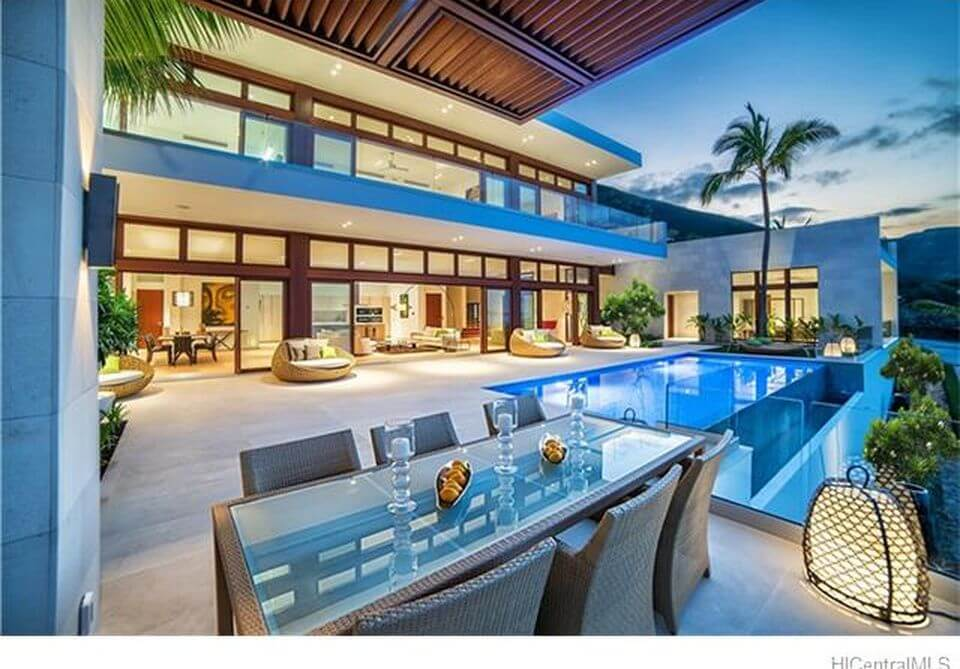here are 5 of the most expensive homes in hawaii that will