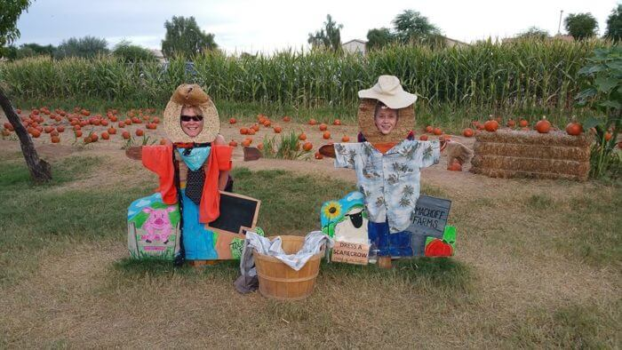 Tolmachoff Farms Corn Maze and Pumpkin Patch in Glendale, Arizona