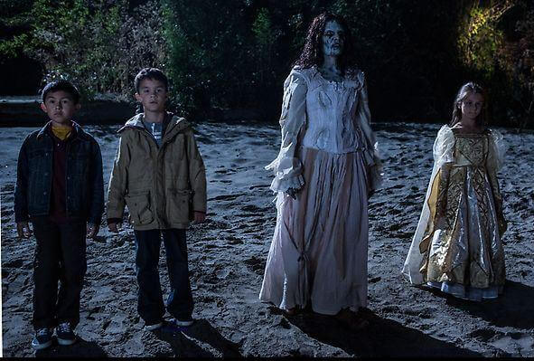 La Llorona and the children. Haunted places in New Mexico