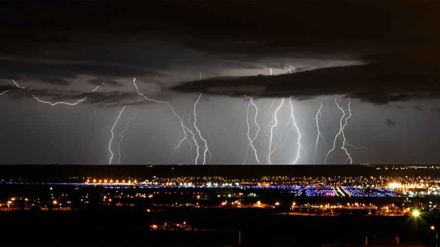 Albuquerque Airport - Photo by Grant Condit