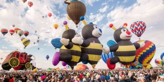 The 2016 Albuquerque International Balloon Festival Video Recap