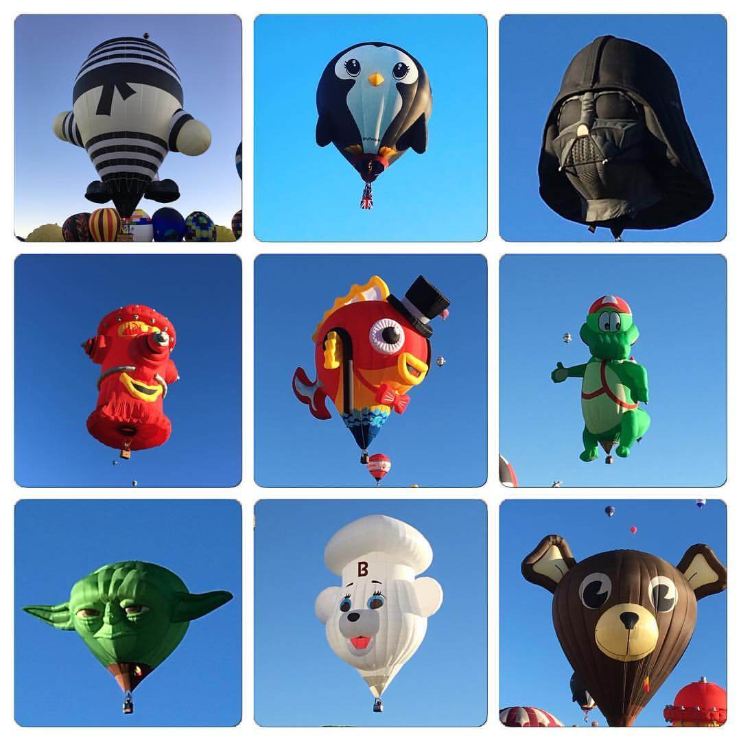 15 of the Wackiest Balloons at the 2016 Albuquerque International Balloon Festival Part 1