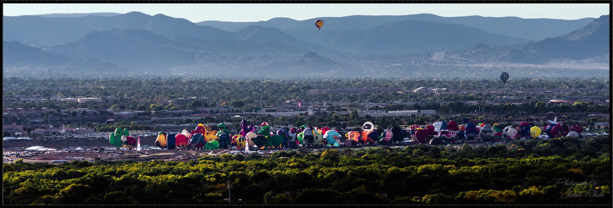 The 2016 Albuquerque International Balloon Festival