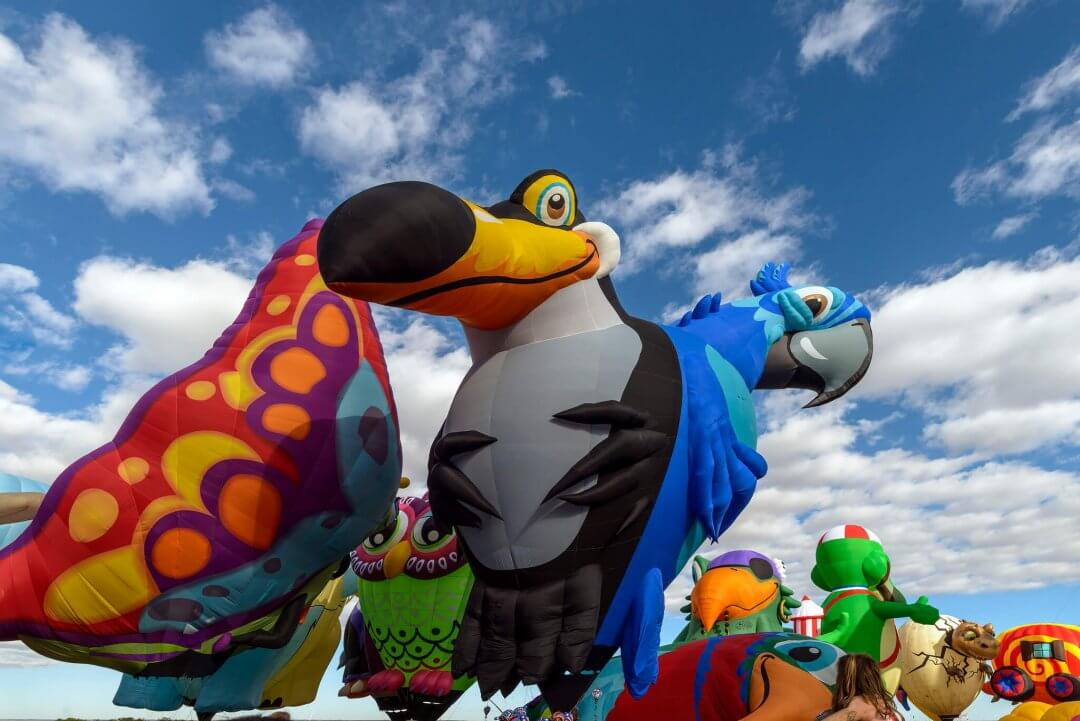 15 of the Wackiest Balloons at the 2016 Albuquerque International Balloon Festival Part 4