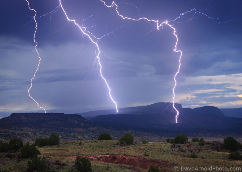 Grants Ridge Mesa in New Mexico - Photo by Dave Arnold