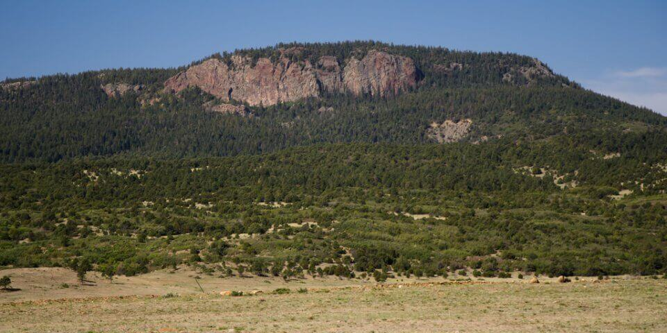 The Urraca Mesa in New Mexico.