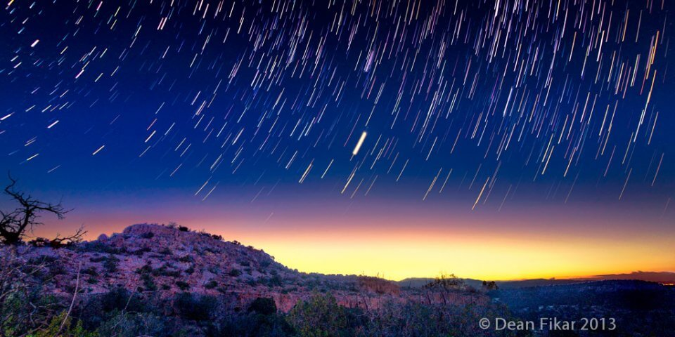 These 7 Star Trails Photographed Over New Mexico Will Mesmerize You