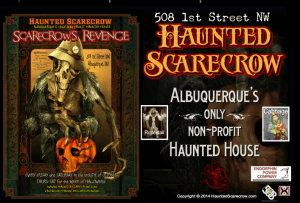 The Haunted Scarecrow in Albuquerque, New Mexico - Website : hauntedscarecrow.wix.com/scream-house-web-site-2011
