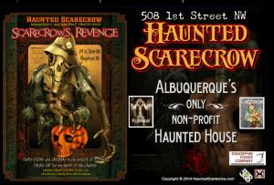 The Haunted Scarecrow in Albuquerque, New Mexico - Website : hauntedscarecrow.wix.com/scream-house-web-site-2011