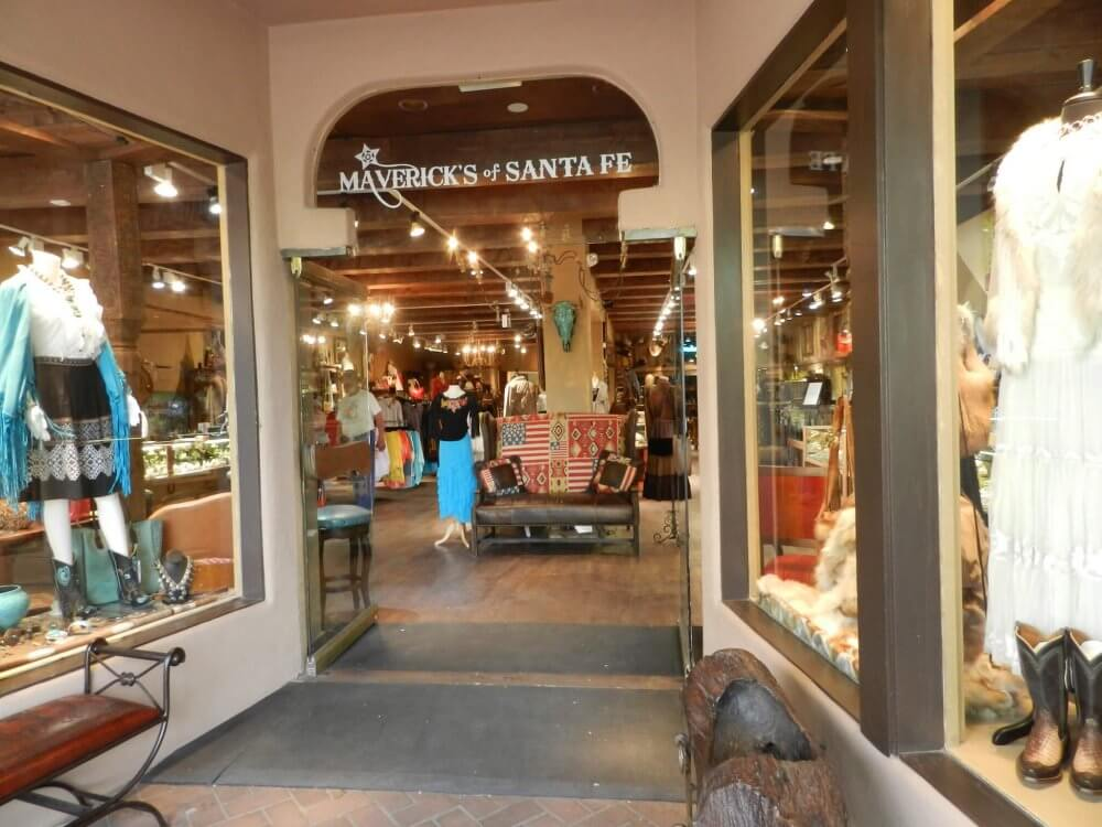 Shopping in Santa Fe, New Mexico - Photo by Graham Tiller