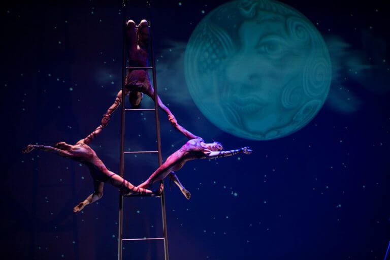 The 13th Annual Circus Luminous in Santa Fe, New Mexico