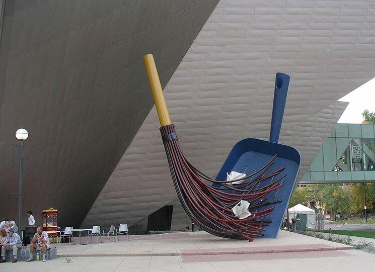 Big Sweep Denver Art Museum