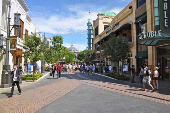 The Grove Outdoor Shopping