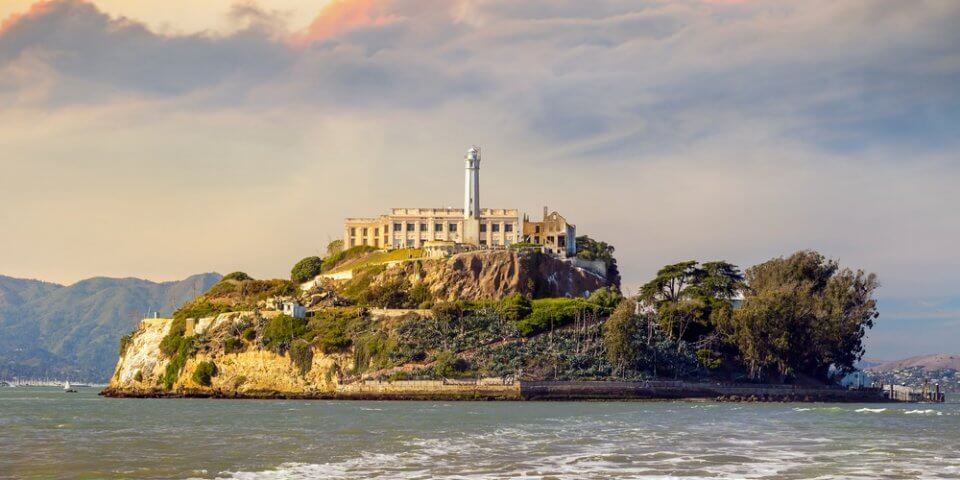 Alcatraz Island is a fun place to visit when looking for things to do in California.