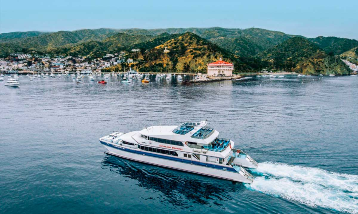 Catalina express trip to catalina island los angeles