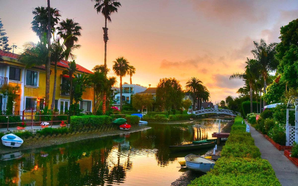 Venice CA Canals