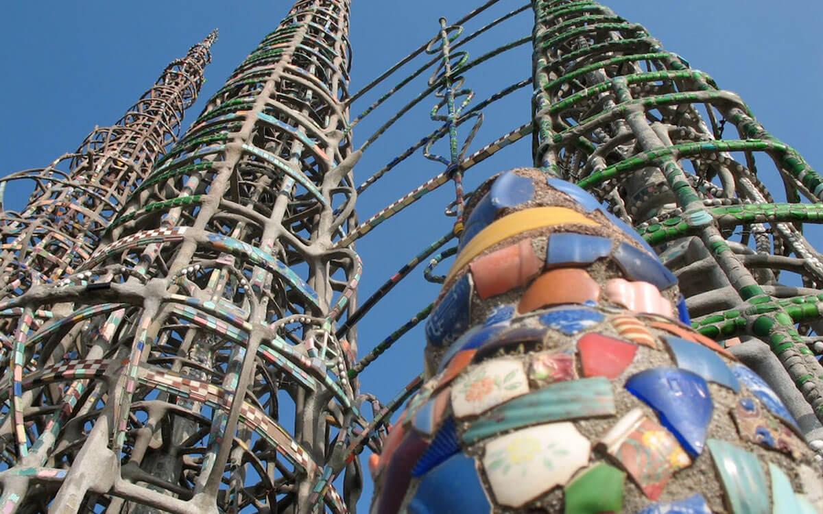 Watts towers in LA