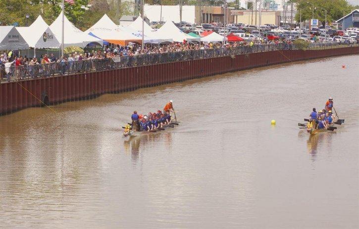 Acadiana Dragon Boat Races Louisiana