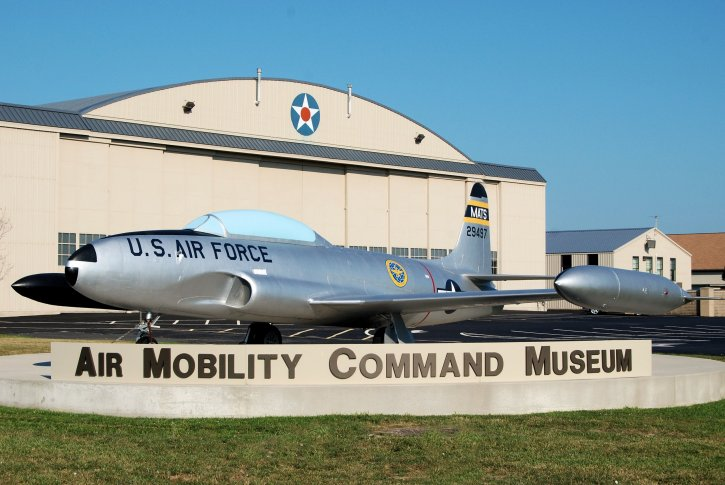 Air Mobility Command Museum T-33A Shooting Star
