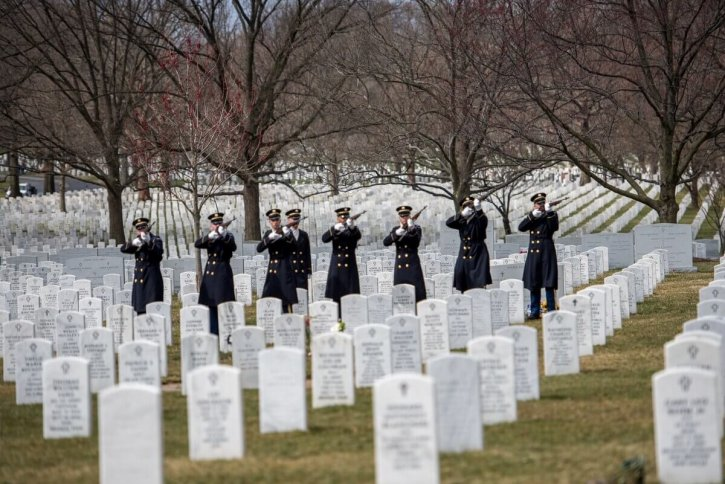 Arlington National Cemetery Funeral