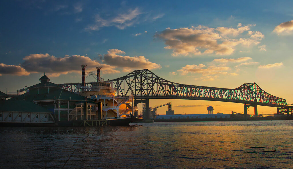 Baton Rouge Sunset View