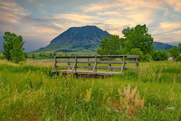Bear Butte State Park Bear Mountain