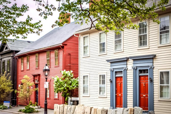 Colonial Houses Benefit Street Mile of History