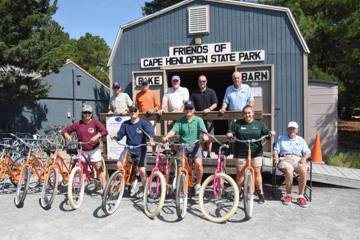 Borrow-a-Bike Friends of Cape Henlopen State Park