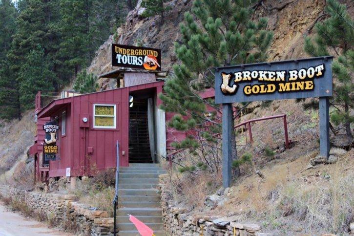 Broken Boot Gold Mine Tour