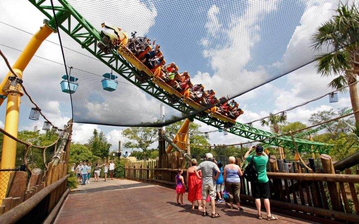Busch Gardens in Tampa Bay