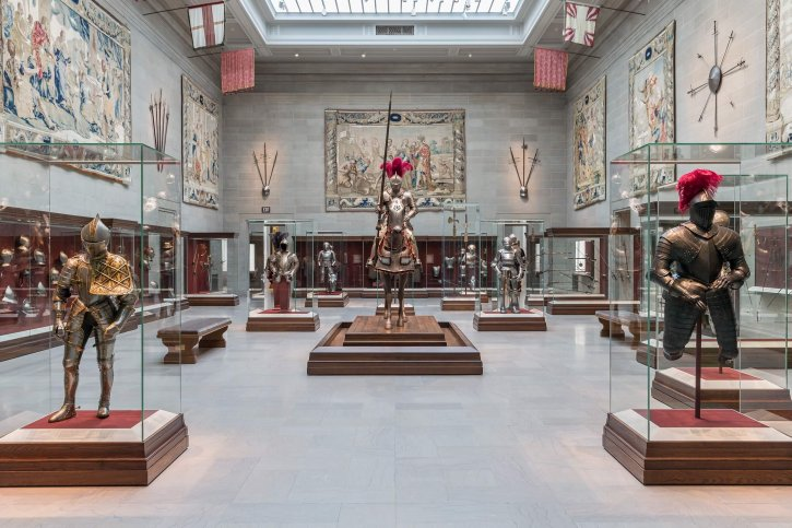 Cleveland Museum of Art Armor Court