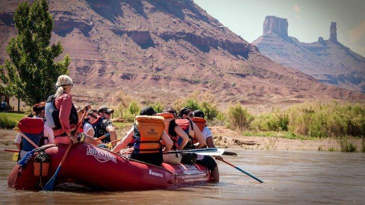 Colorado River Moab Rafting