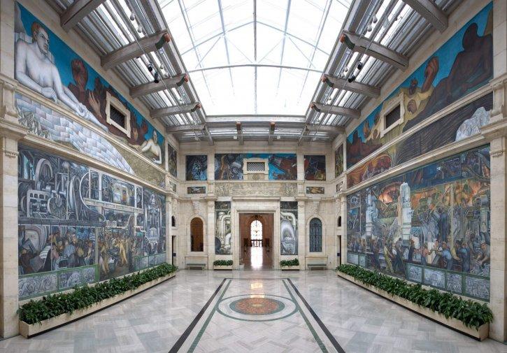 Detroit Institute of Art in Michigan