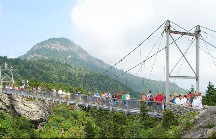 Grandfather's Mountain Bridge