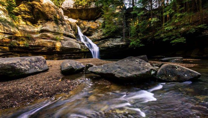 Hocking Hills State Park Hiking Trail