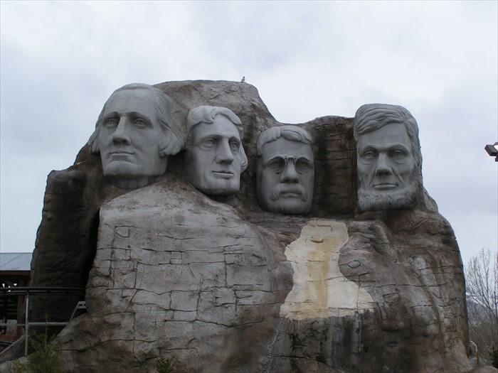 Mount Rushmore Replica Utah