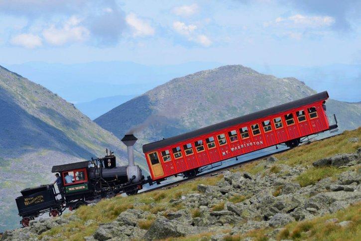 Mount Washington Cog Railway New Hampshire