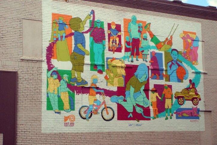 Murals Charleston's East End
