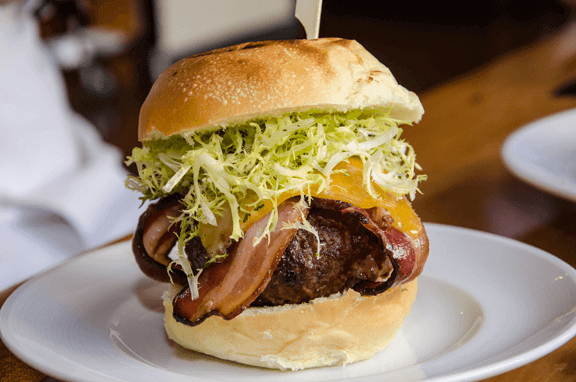 Proof on Main Bison Burger