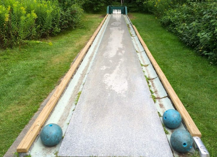 Rock of Ages' Outdoor Granite Bowling Alley Vermont